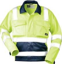 Warnjacke gelb Warnschutzjacke gelbe Sicherheitsjacke Gr.60 gelb/marine elysee
