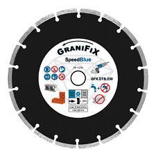 GraniFix® Diamant Trennscheibe Ø 230mm Diamantscheibe für Stein Beton