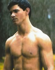 TAYLOR LAUTNER 8X10 COLOR PHOTO ACTOR SHIRTLESS