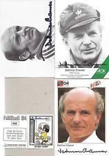 1 Autogramme Dettmar Cramer original FCB Bayern München Hertha Karte oben links