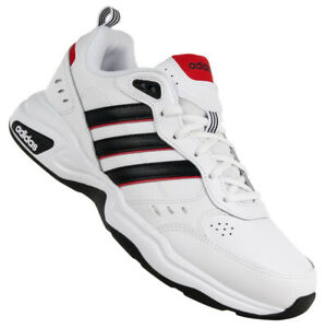 Adidas STRUTTER EG2655 Sportschuhe Sneaker Freizeitschuhe Herren Weiß Echtleder