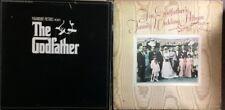 THE ORIGINAL GODFATHER ALBUM & GODFATHER'S FAMILY WEDDING LP ALBUM SET/2 RECORDS