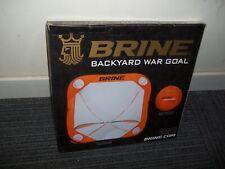 Brine Lacrosse Back Yard Wars Goal 4 x 4 Feet, New In the Box & Free Shipping