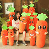 NEW Big Cartoon Carrot Stuffed Plush Toy Doll Vegetable Soft Pillow Cushion Gift