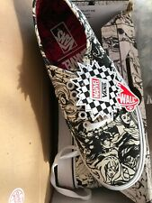Womens Marvel Authentic Vans Shoes Limited Edition X Collaboration Size 8 NEW