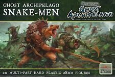 North Star & Osprey Frostgrave Ghost Archipelago Snake-Men NEW