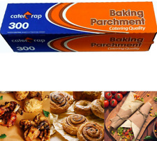 Baking Parchment Paper Roll Non Stick Greaseproof sheet - Caterwrap 300 mm x 50m