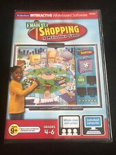 Lakeshore Interactive Whiteboard Software Main Street Shopping Idea Game Gr 4-6