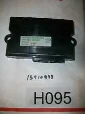 2008 CADILLAC STS LF DOOR MULTIFUNCTION CONTROL MODULE 15910993  TESTED #H095+