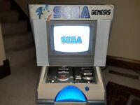 Sega Genesis console system Interactive CounterTop Demo Unit Model1 retail Kiosk