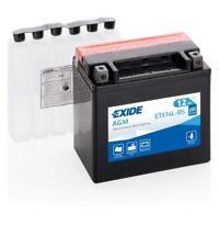 Batterie moto YTX14L-BS ETX14L-BS Exide 12V 12AH 200A 150X90X145MM
