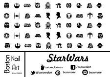 Star Wars Waterslide Nail Decal - 50 PC - BNA-20008