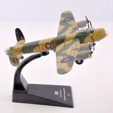 Diecast 1:144 Avro Lancaster BI Fighter Plane Model WW II UK 1945 Aircraft Toy