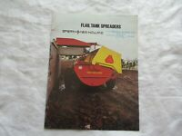 1979 Sperry New Holland manure spreaders brochure