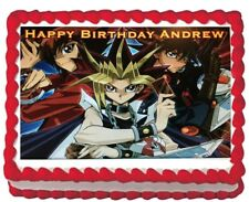 Yugioh Party Icing Edible Cake Topper Image Decoration Party Frosting