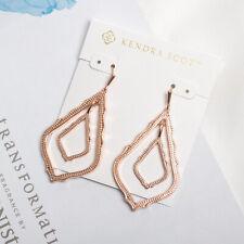 NEW Kendra Scott Simon Drop Earrings In Rose Gold Authentic