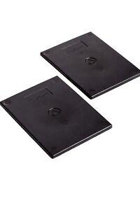 Hi Fi Vibration Isolation Dampener Speaker Feet/Pads x 4 (Size each 135 x 105mm)