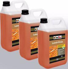 15 Liter Leinöl-Firnis Imprägnierung Holzschutz doppelt gekochtes Firnis TOP