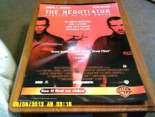 The Negotiator (Samuel L Jackson, Kevin Spacey) Movie Poster A2