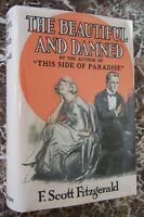 The Beautiful and Damned, 1922 First Edition, F.Scott Fitzgerald, Scribner's