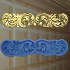 Gießformen Verzierung Silikonformen Gips Ornament Relief Deckenverzierung  (165)