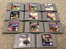 Nintendo 64 games joblot