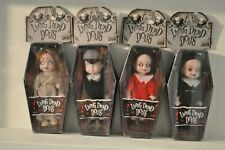 Living Dead Dolls Mezco Mini's Series 1 Sadie, Sin, Posey & Damien New