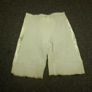 """Vintage Penney's Adonna Firm Control Long Leg Girdle with Garters Wh Med (28"""")"""