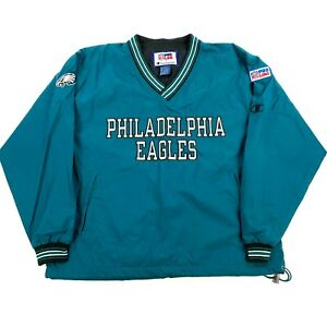NEW NWOT VTG Philadelphia Eagles 1996 Champion Pullover Jacket Coat Windbreaker