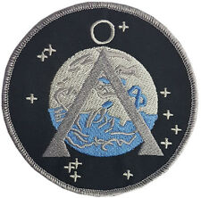 Stargate SG 1 Earth Patch Embroidered Badge Sew/iron on 10cm