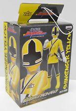 Power Rangers SHINKENGER YELLOW Japan Exclusive Figure Banpresto 2009 NIP
