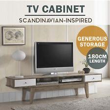 MEYA TV Stand Entertainment Unit Storage Drawers Scandinavian Shelf