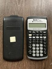 Texas Instruments Ba Ii Plus Financial Calculator Working Condition