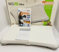 Nintendo Wii Fit Board w/ Shaun White Snowboarding World Stage Game, Manual, Box