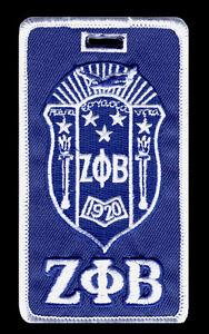 "Zeta Phi Beta ""Crest"" Luggage Tag  L@@K AT THIS!"
