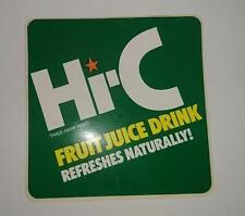 Retro Sticker - Hi-C fruit juice drink - Refreshes Naturally!.