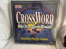 CROSS WORD SUNDAY PUZZLE BOARD GAME  BY HERBKO INTERNATIONAL NEW