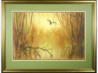 'Woodcock Birds' by Jonathan Yule - watercolour original signed