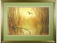 REDUCED 'Woodcock, Early Morning' by Jonathan Yule - watercolour original signed