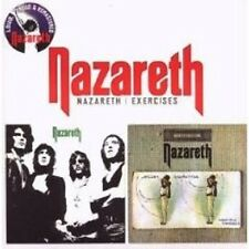 "NAZARETH ""NAZARETH/EXERCISES"" CD REMASTERED NEW+"
