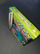 Pokemon Nintendo Gameboy Advance Blattgrün mit Verpackung