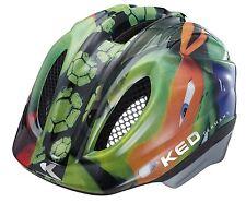 KED Helm  Fahrradhelm Kinderfahrradhelm Turtles  Gr. M 52 - 58 cm neu