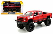 JADA 1:24 W/B JUST TRUCKS OFF-ROAD EDITION 2014 CHEVROLET SILVERADO BLACK DECALS