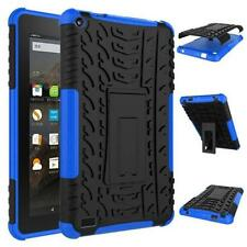 Rubber Shockproof Hybrid Case Cover Stand Holder For Amazon Kindle Fire HD7 2015