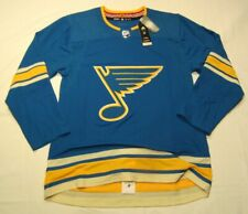 ST. LOUIS BLUES size 52 Large ADIDAS NHL Alternate style Hockey Jersey Aeroready