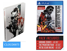 Metal Gear Solid V Phantom Pain Definitive + Limited Collectable Day 1 Steelbook