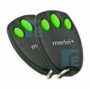 Chamberlain Merlin C945 Garage Door Remote Control Suits MT60, MT60P 2 Pack