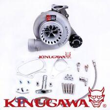 """Kinugawa Billet Turbocharger 4"""" Anti Surge SUBARU WRX STI T67-25G 8cm Oil Cooled"""