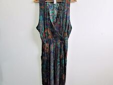 "R.J.STEVENS WOMENS 80'SVTG JUMPSUITS/PLAYSUITS MULTI SIZE 6 24""W VGOOD SKU WB235"