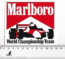 Decal/Sticker - Marlboro World Championship Team